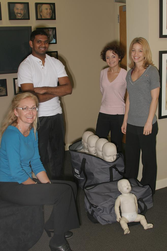 CPR Refresher Course at Designs for Dental Health